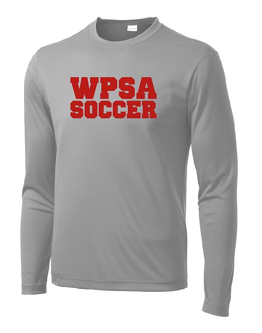 WPSA Soccer Silver Practice Sport-Tek Long Sleeve PosiCharge Tee