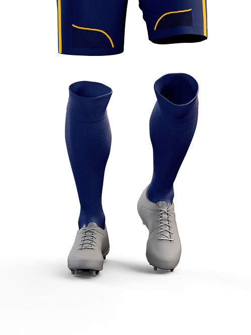 Navy Game Socks