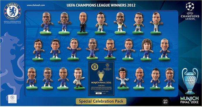 Chelsea - Champions League 23pc Celebration Team Pack - 2012