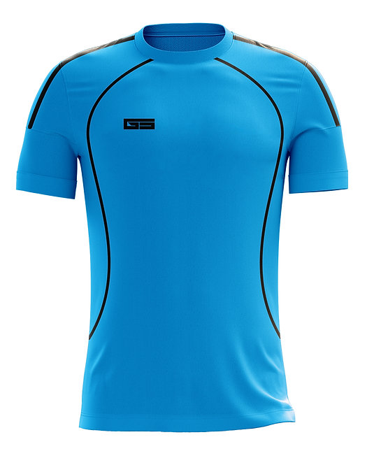 Golati Soccer Jersey 212 (Turquoise/Black)