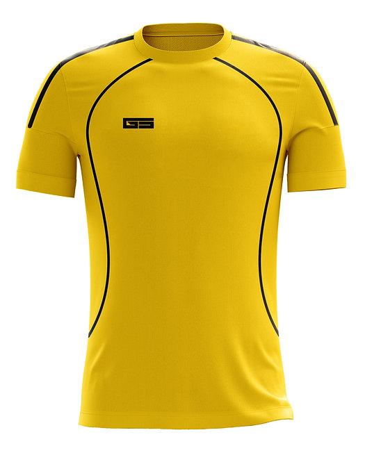 Golati Soccer Jersey 221 (Gold/Black)
