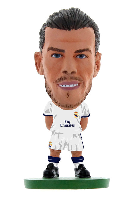 Real Madrid - Gareth Bale (NEW SCULPT) Home Kit (2017 version)