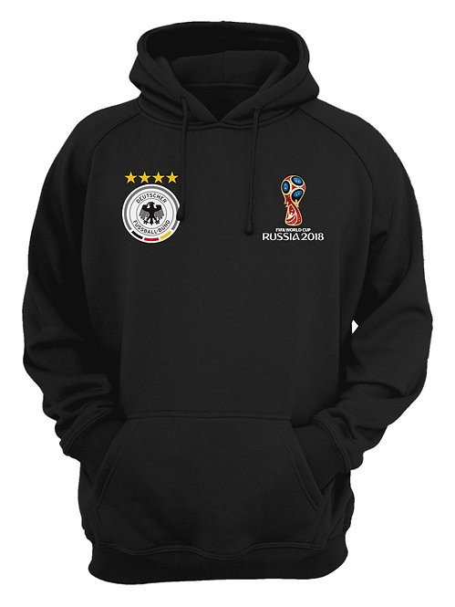 Germany World Cup 2018 Black Hoodie