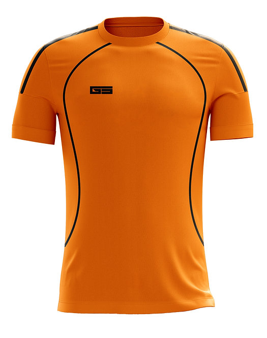Golati Soccer Jersey 209 (Orange/Black)