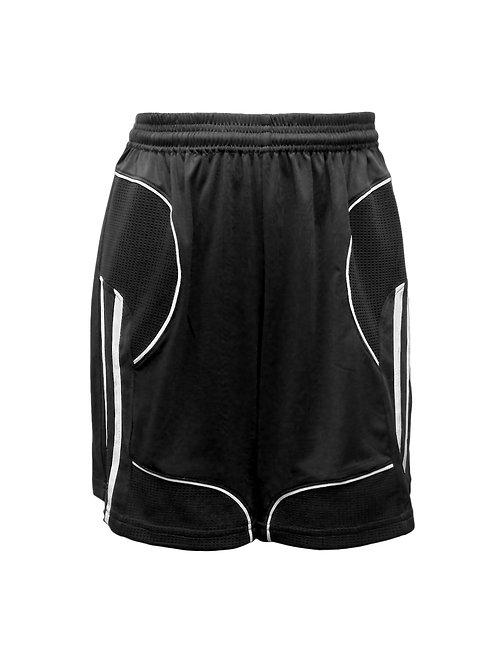 Golati Elite Soccer Shorts (Black/White)