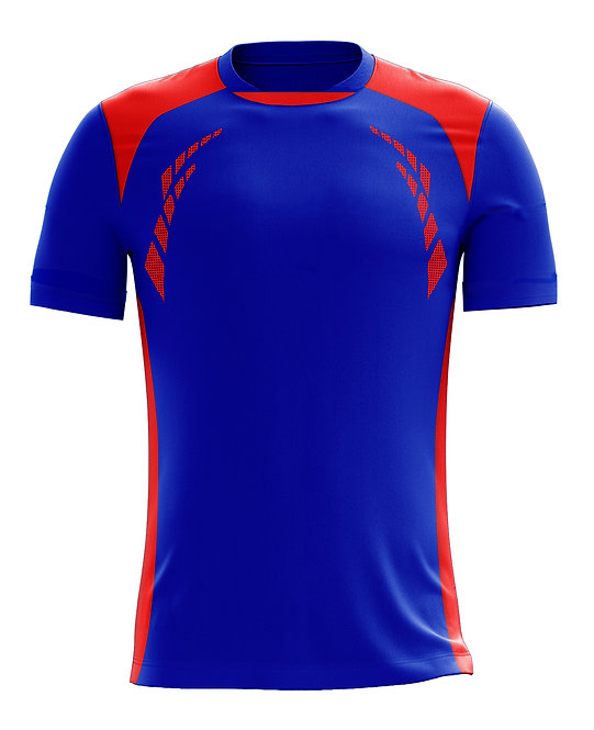 Hybrid Jerseys (Royal/Red)