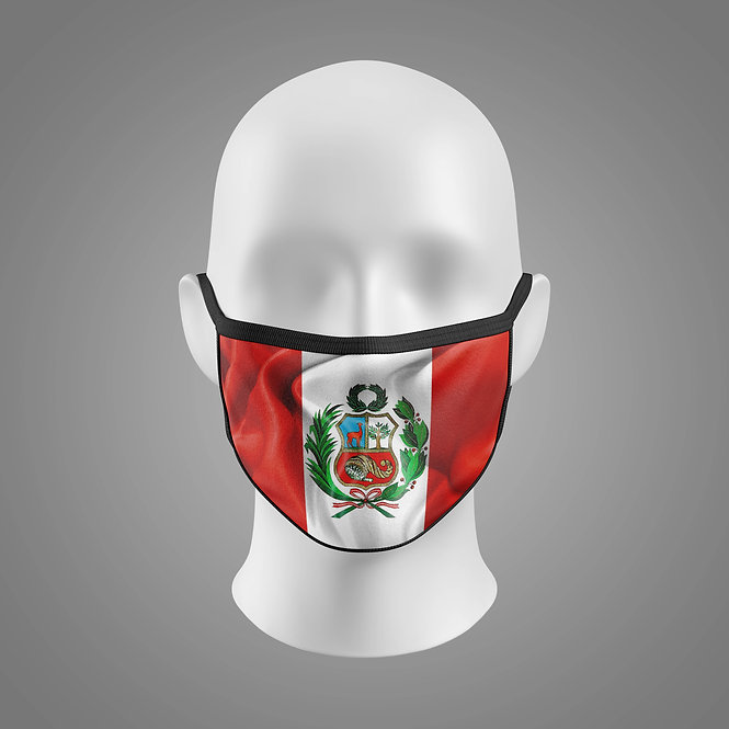 Country Flag Sublimated FLAT FACE MASK