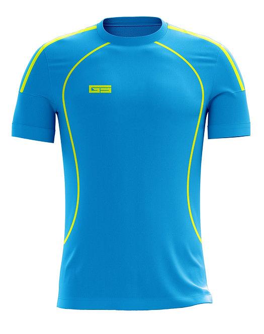 Golati Soccer Jersey 227 (Turquoise/Neon Yellow)