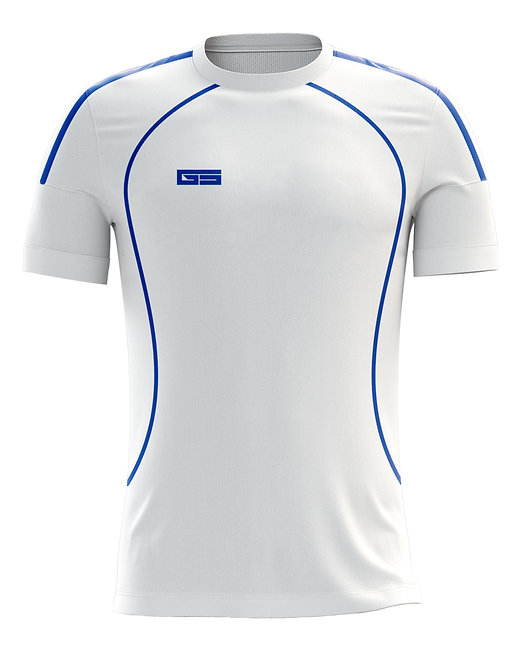 Golati Soccer Jersey 205 (White/Royal)