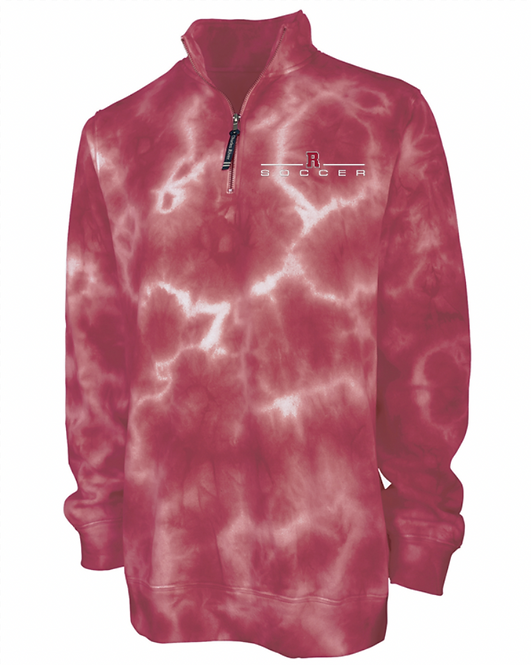 Crosswind Quarter Zip Sweatshirt (Tie-dye)