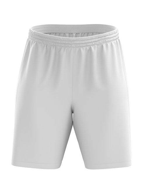 Basic Soccer Shorts (White)