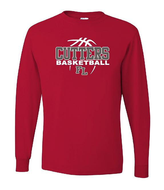 FLHS Cutters Basketball DryBlend Long Sleeve T-Shirt