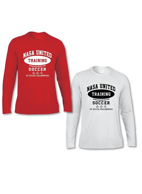 6. Nasa United: Training Long Sleeve T-Shirt