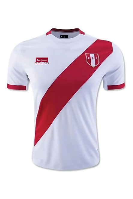 Peru 2017 Home Jersey (no name /no number)