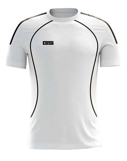 Golati Soccer Jersey 207 (White/Black)