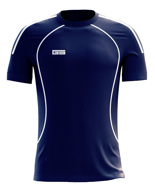 Golati Soccer Jersey 220 (Navy/White)