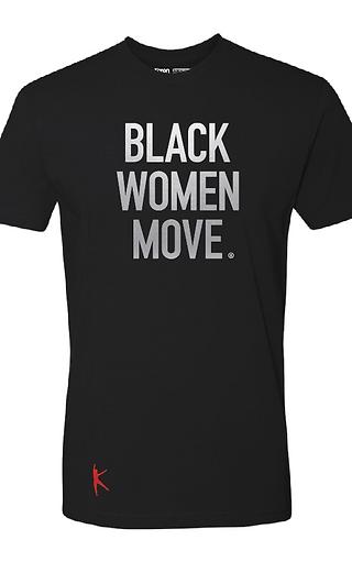 Black Women Move ® Men's Tee