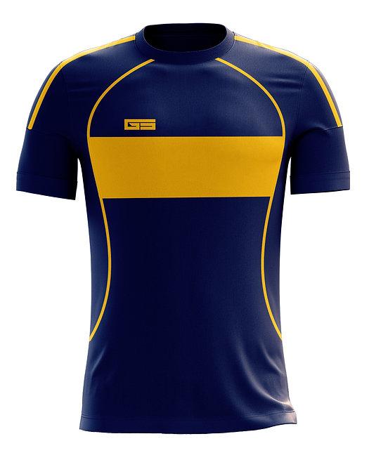Golati Soccer Hoop Jersey 250 (Navy/Gold)