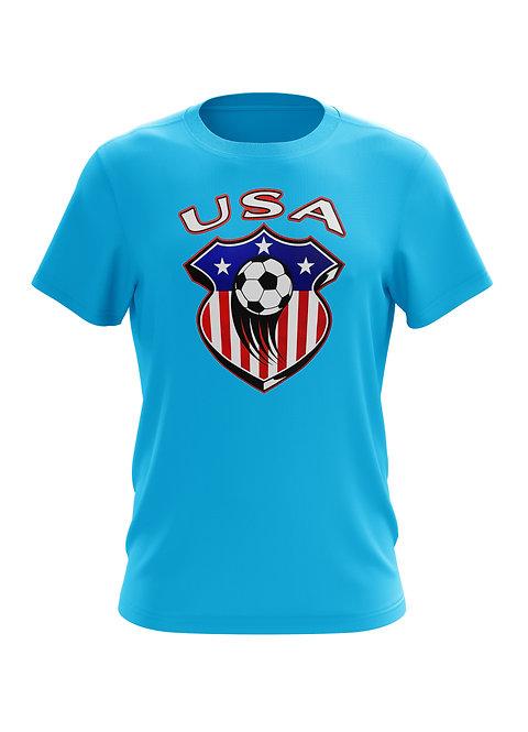 USA Soccer Shield  T-Shirt