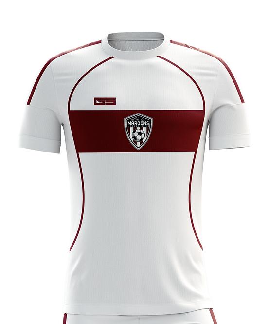 White Game Jersey