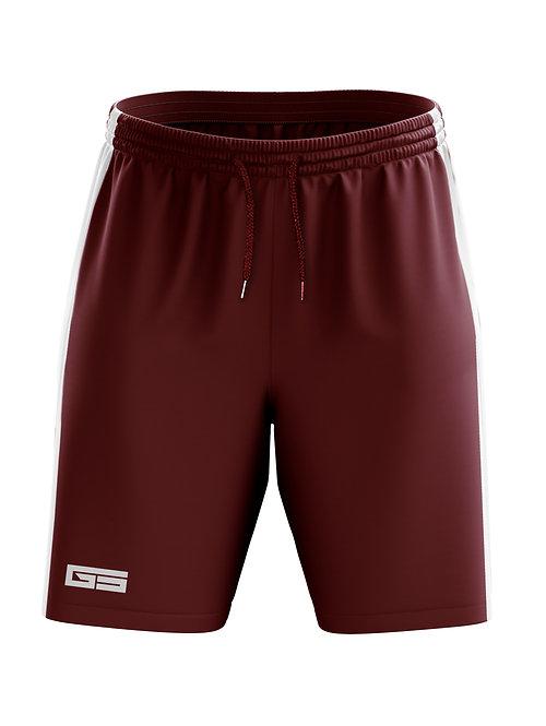 Golati Soccer Shorts (Maroon/White)