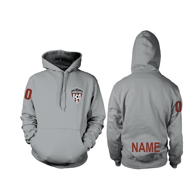 MSC Grey Hooded Sweatshirt