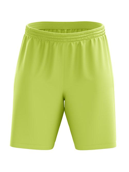 Basic Soccer Shorts (Neon Yellow)