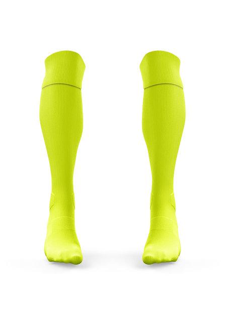 Golati Euro Soccer Socks (Neon Yellow)