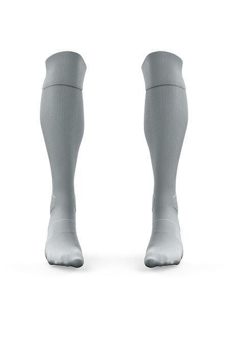 Golati Euro Soccer Socks (Silver)