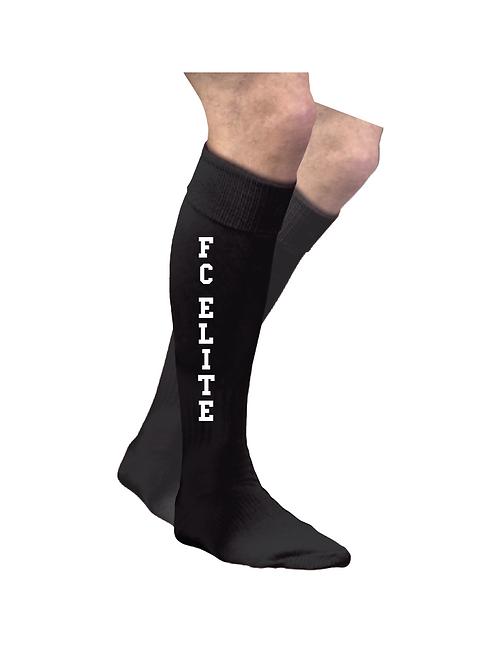 Black Game Socks