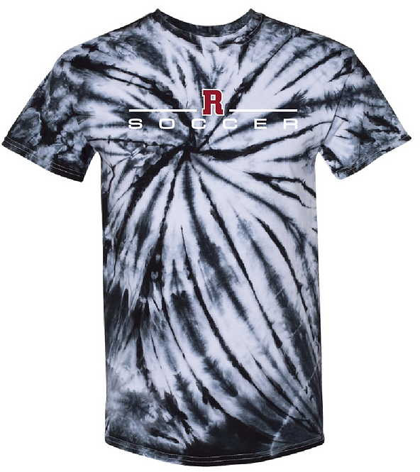 RHS Black Tie-Dye T-shirt