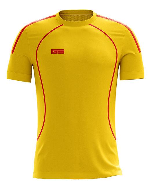 Golati Soccer Jersey 219 (Gold/Red)