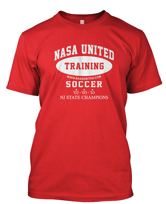 5. Nasa United: Training T-shirt