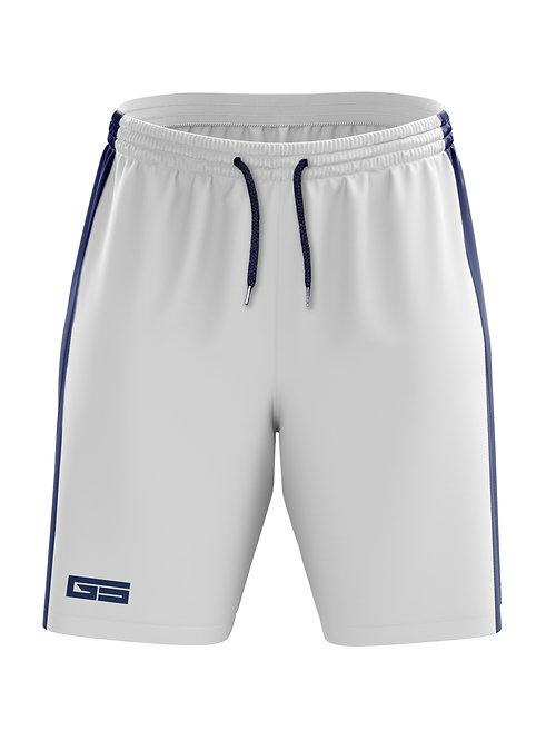 Golati Soccer Shorts (White/Navy)