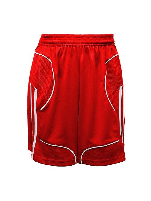 Golati Elite Soccer Shorts (Red/White)