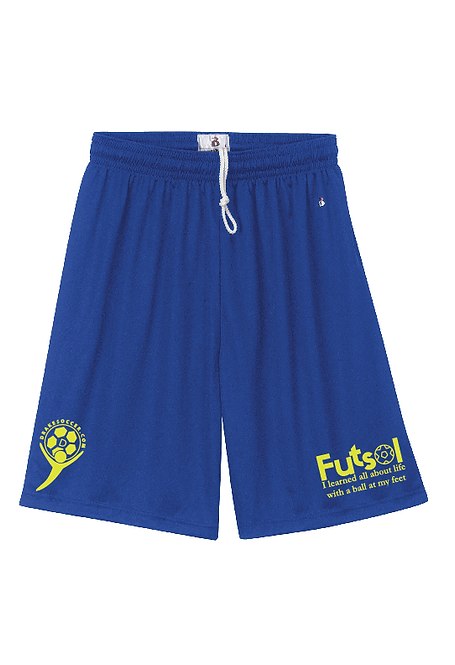 5-DRAKESOCCER: Futsol Performance Shorts