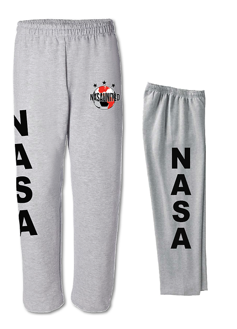 10. Nasa United: Open Bottom Sweatpants