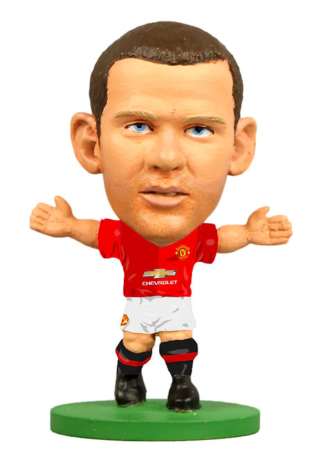Man Utd - Wayne Rooney - Home Kit (2017 version)