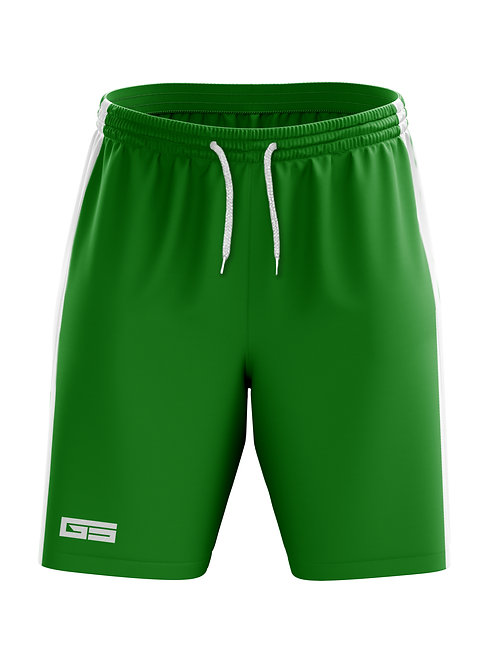 Golati Soccer Shorts (Green/White)