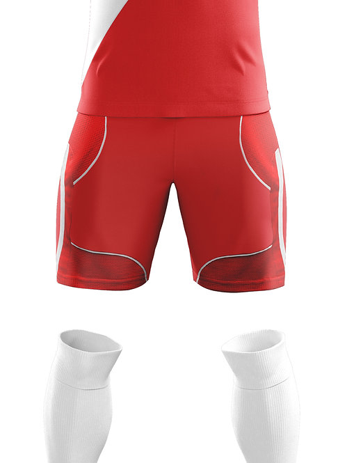 Red Game Shorts
