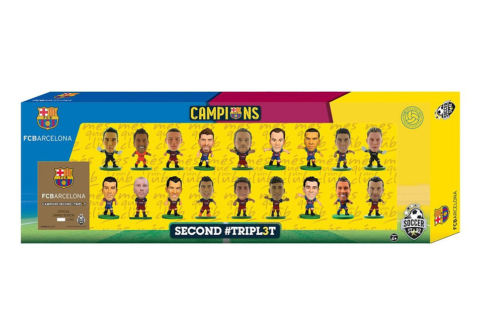 Barcelona - Treble Winners Celebration 18 Player Team Pack