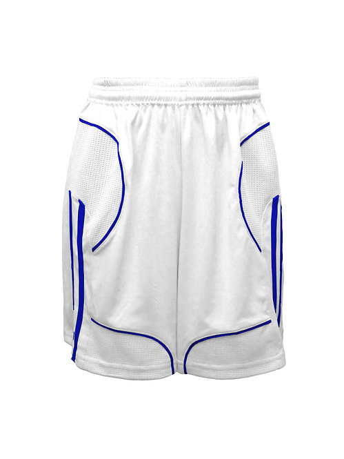 Golati Elite Soccer Shorts (White/Royal)