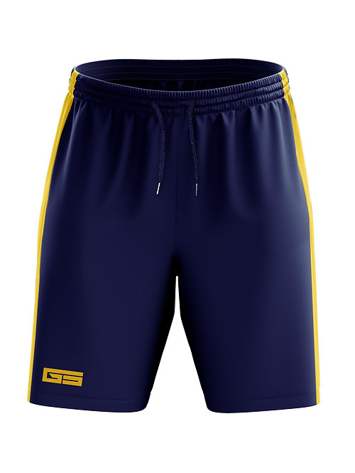 Golati Soccer Shorts (Navy/Gold)