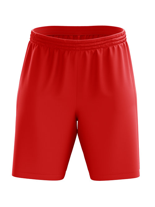 Basic Soccer Shorts (Red)
