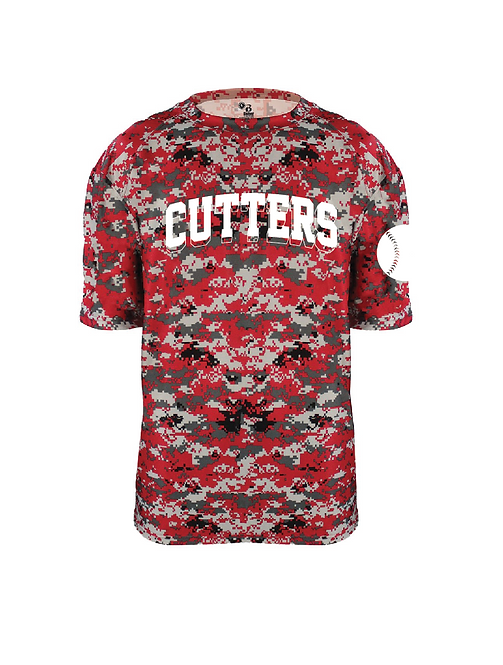 Fair Lawn Cutters Red Digital Camo Jersey