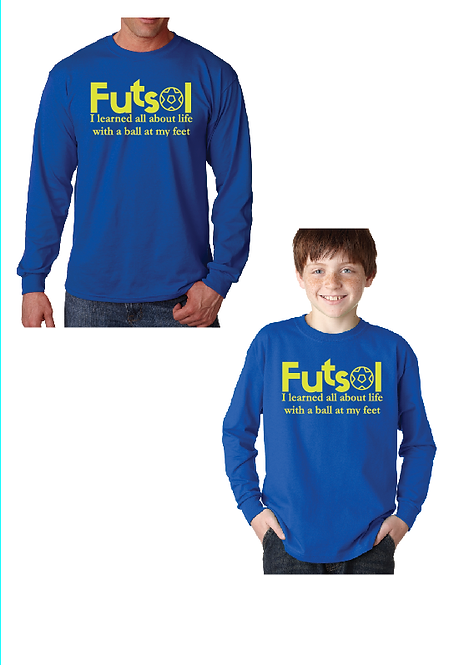 2-DRAKESOCCER: Futsol Long Sleeve T-shirt