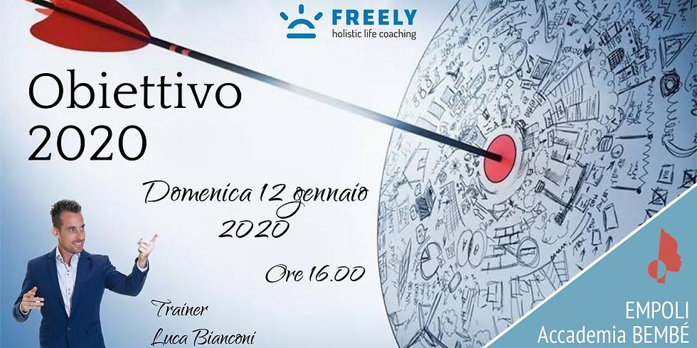 Obiettivo 2020 - UNICA DATA DELL'ANNO