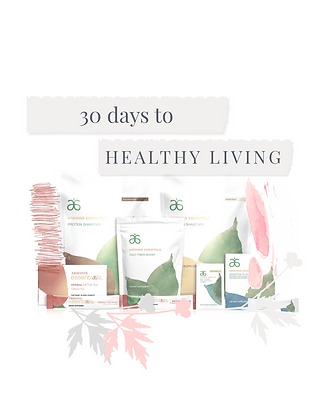 Arbonne's 30 Days to Healthy Living