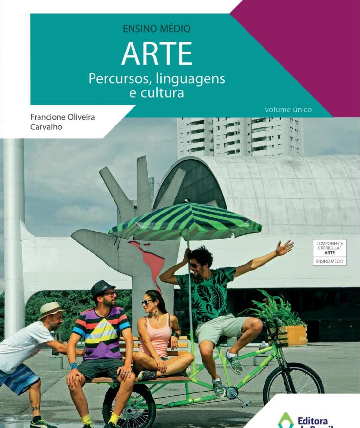 Livro de Artes para o ensino médio