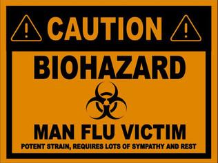 Monday Musings….The Man Flu, Fact or Fantasy?